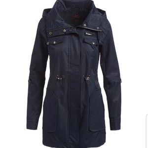 Coming Soon Plus Size Navy Anorak Jacket